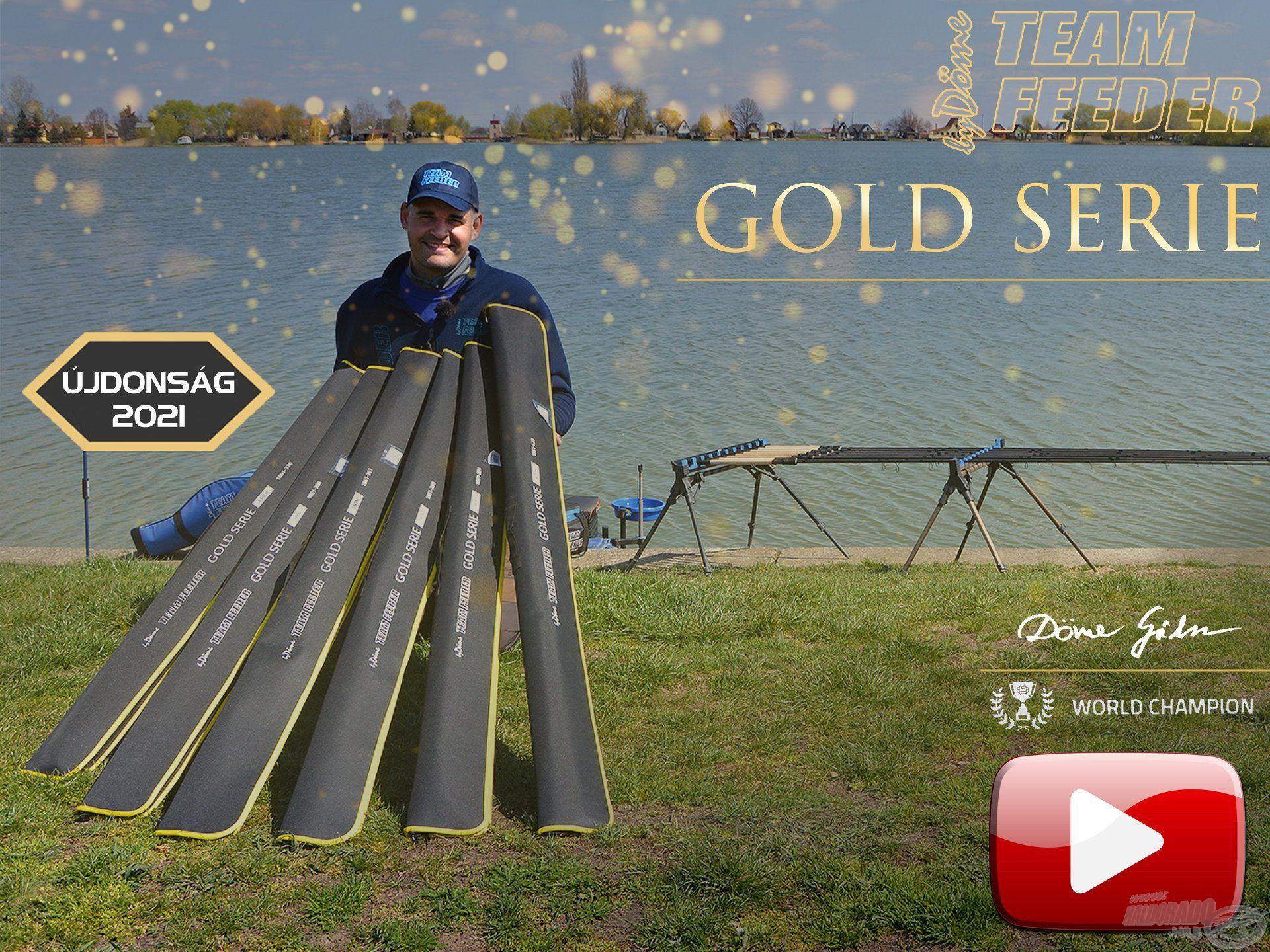 Bemutatom a TEAM FEEDER Gold Serie feederbotokat