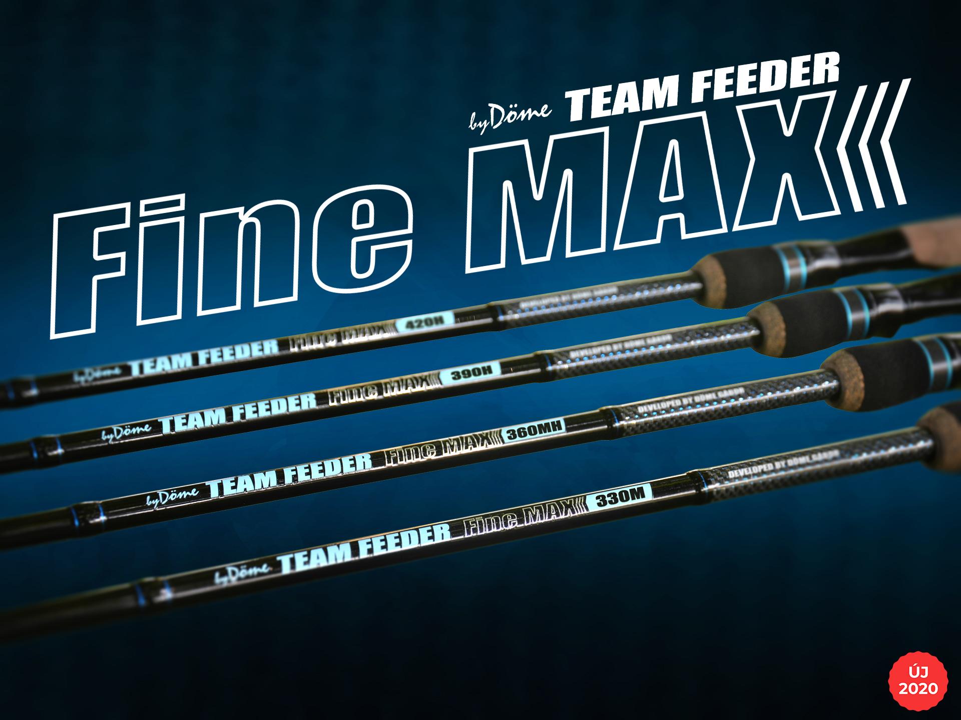 Örömmel mutatom most be a legújabb fejlesztésű TEAM FEEDER Fine Max feederbot szériánkat, mely a modern botgyártás szinte minden paraméterét magán hordozza!
