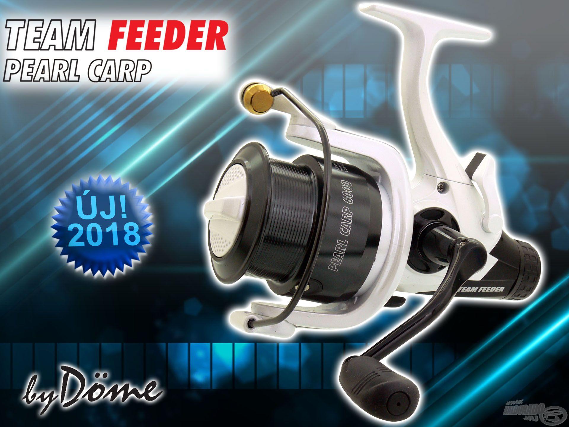 A By Döme TEAM FEEDER repertoár egyik legújabb tagja a Pearl Carp LCS orsó-széria