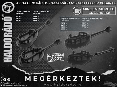 Bemutatom az új generációs Dart Pro és Dart Metal method kosarakat