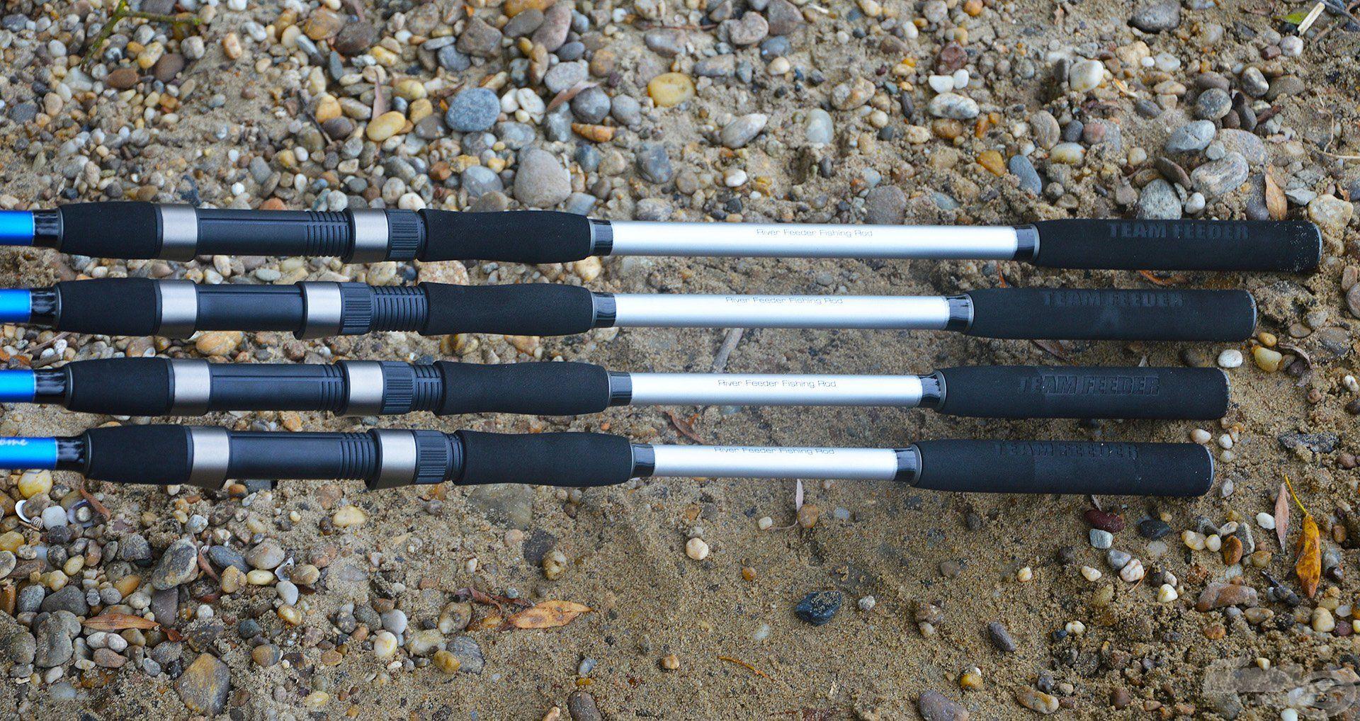 A Big River botok osztott nyéllel készülnek