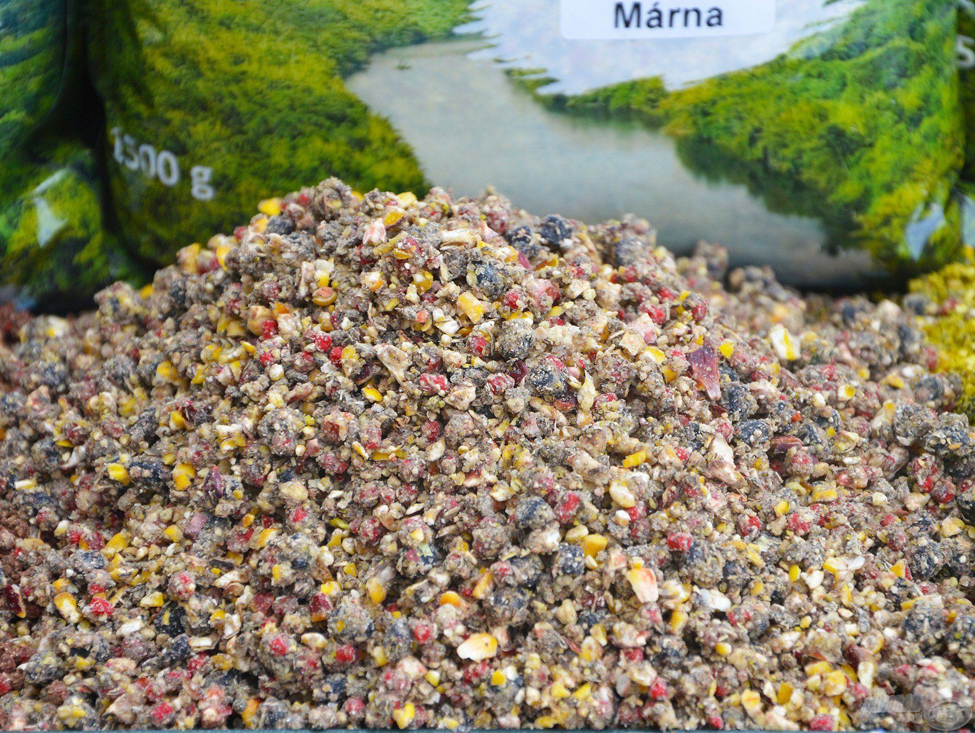 A Fürge Márna bővelkedik elliptikus pelletben, amely garantáltan a horgászhelyen marad