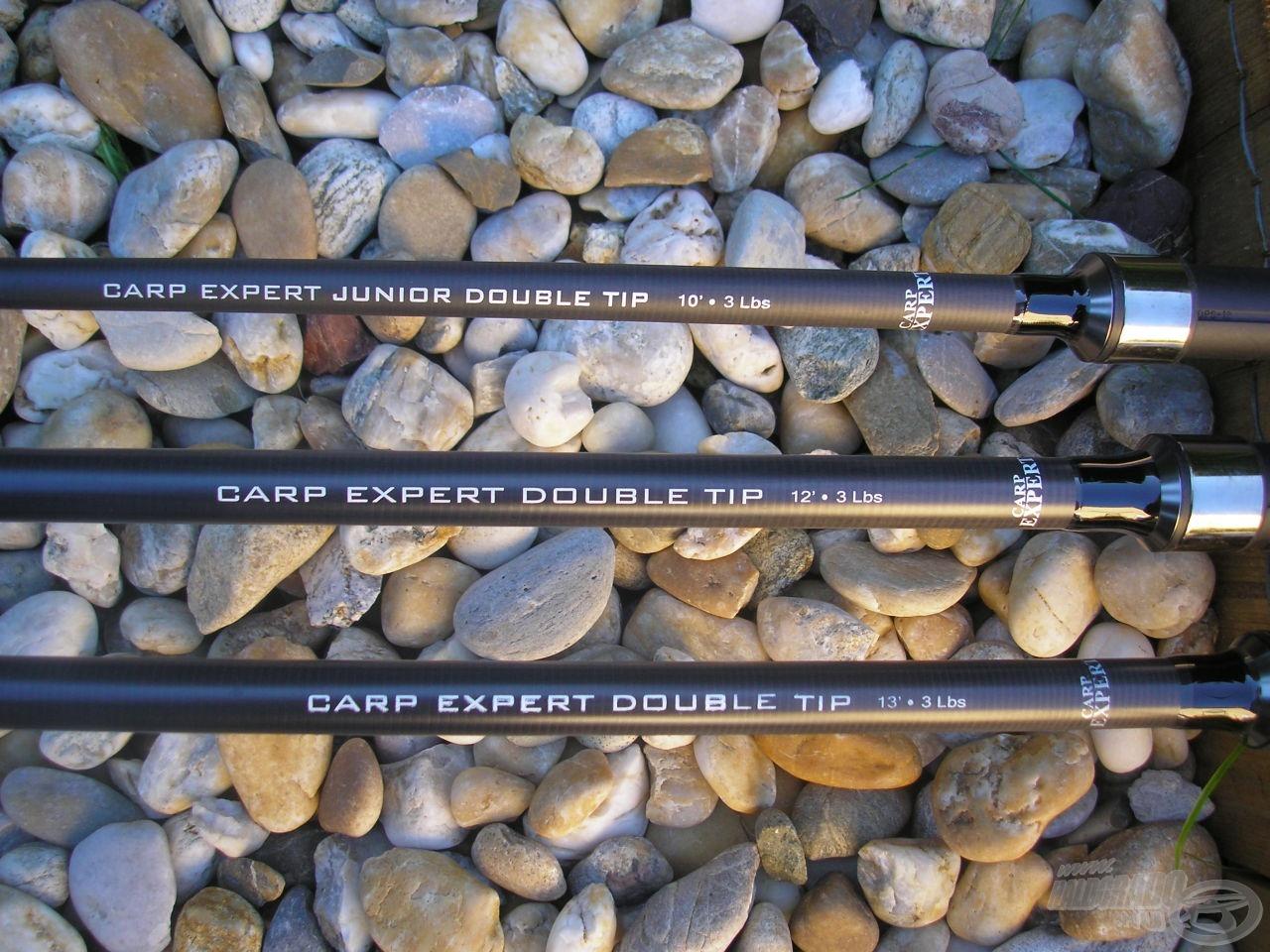 A Carp Expert Double Tip botok igazi kuriózumnak számítanak a pontyhorgászatban