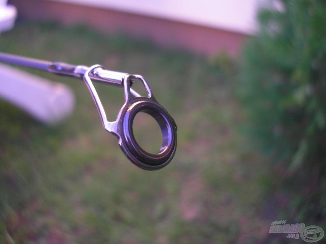 Kifogástalan minőségű SiC gyűrű a bojlis spiccen