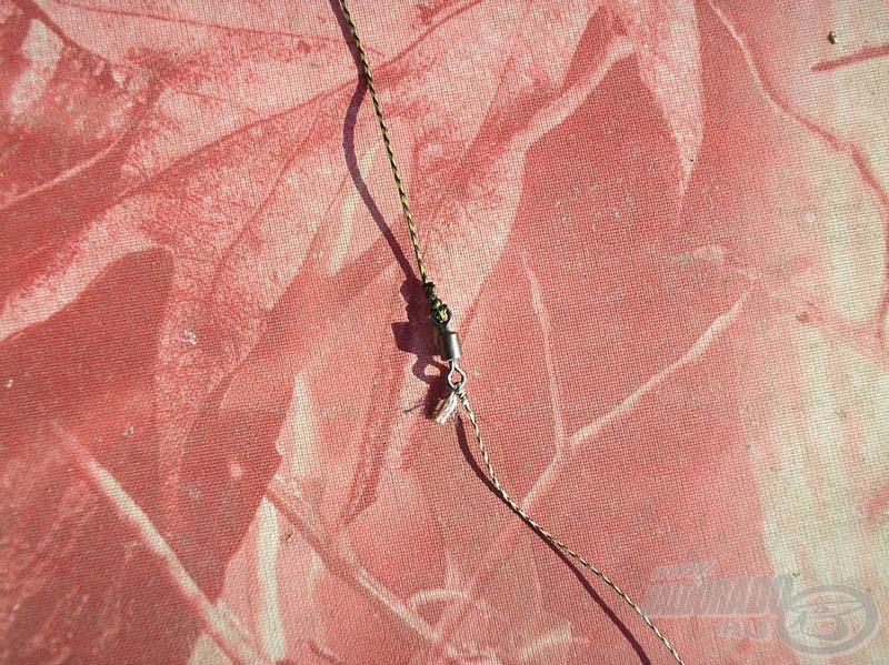 A horogelőke középtáján egy miniforgót iktattam be