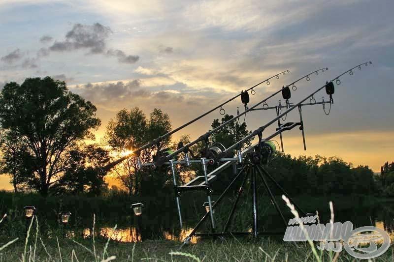 Többnapos horgászat során nagyon nehéz dolgunk lenne elektromos kapásjelző nélkül!