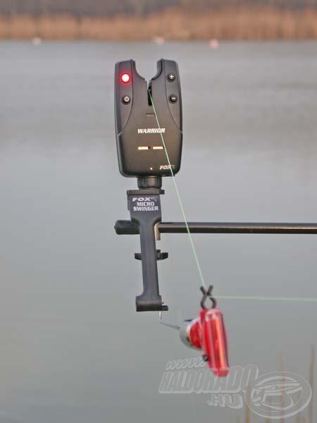 A swinger egy speciális súlyozott kapásjelző, alkalmazásával elérhető az a cél, hogy elektromos kapásjelző használata során a zsinór mindig feszes legyen