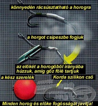 A Korda Shrink Tube használata