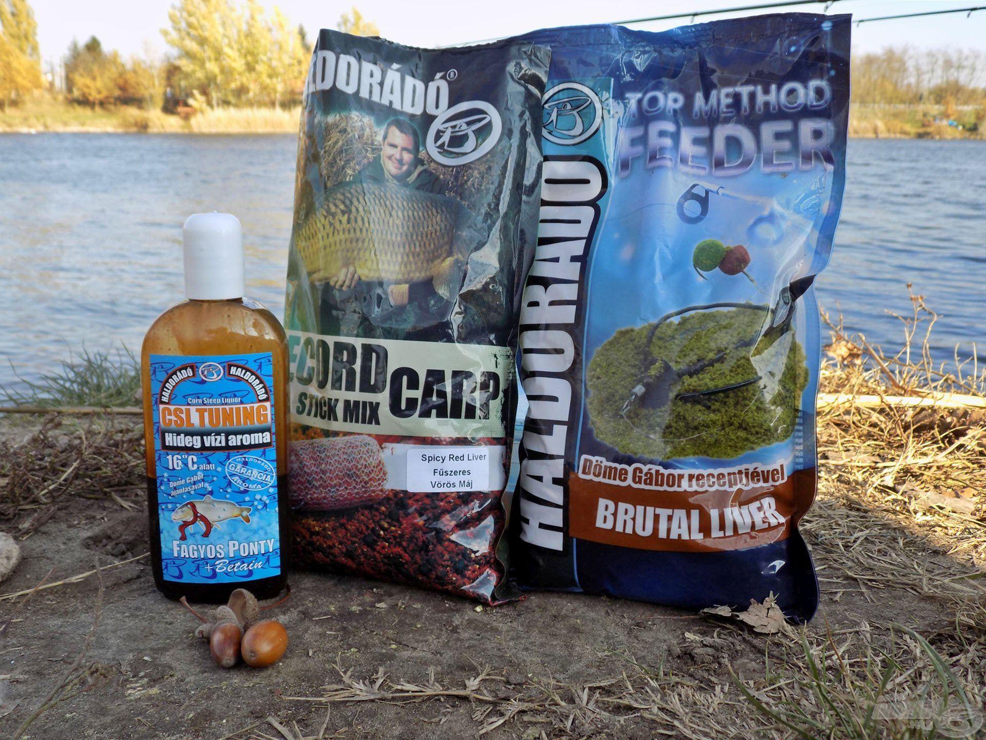 Brutál májas keverék hideg vízi horgászatokhoz hangolva! A CSL aromák nagyszerűen fokozzák az íz- és illathatást, ami olykor elengedhetetlen!
