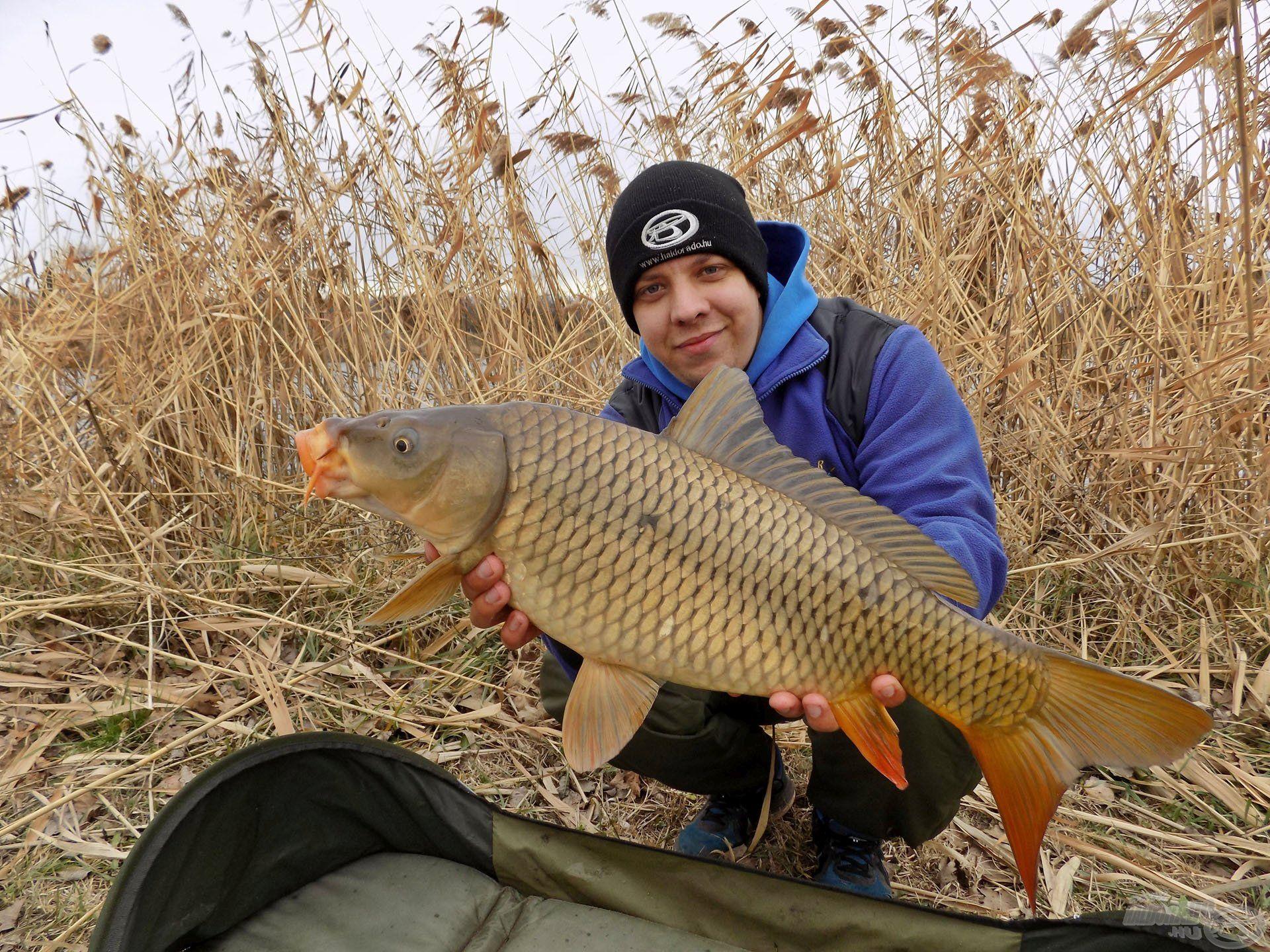 Az év utolsó napjain a hideggel megküzdve egyetlen kapás, egyetlen hal óriási örömet tud okozni!