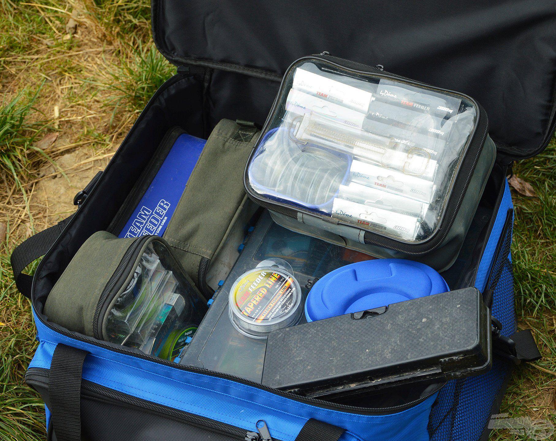 Minden belefér, amely egy method horgászathoz szükséges lehet
