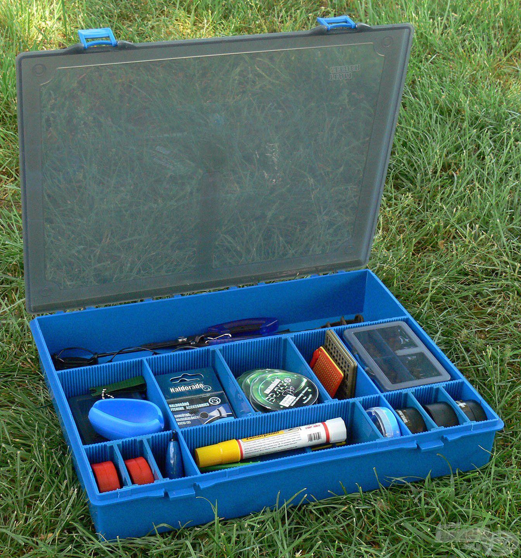 Egy praktikus dobozban minden apróságnak jut hely