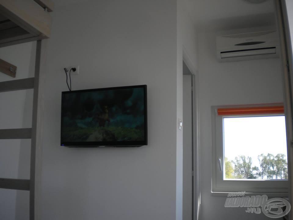 Két kapás között némi tévénézéssel is múlathatjuk az időt