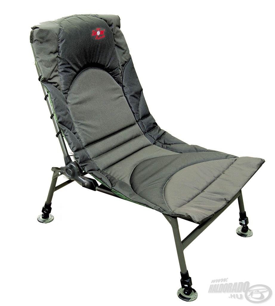 A hosszú távú túrák kényelmes kiegészítője ez a fotel