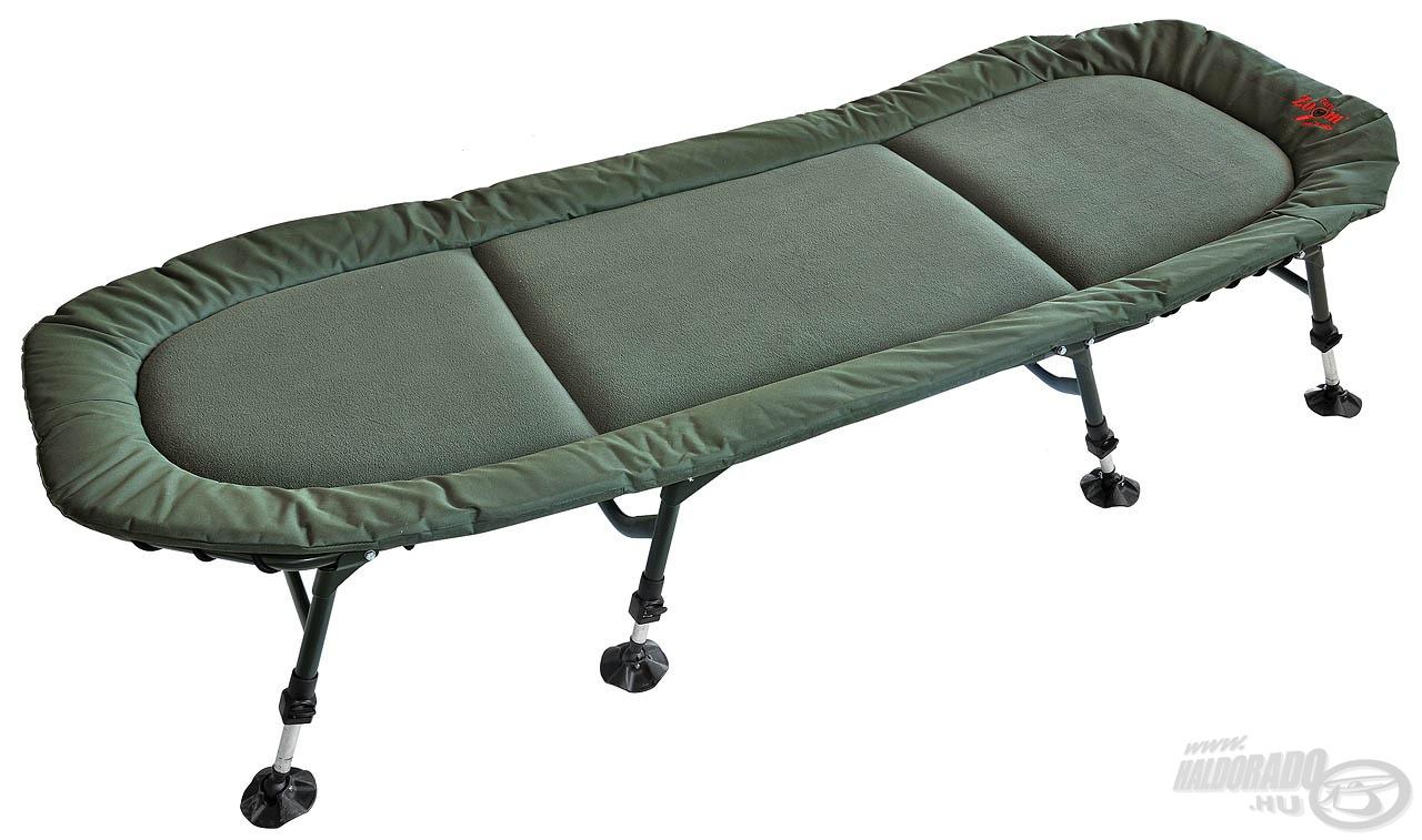 Nagyméretű pontyozó ágy