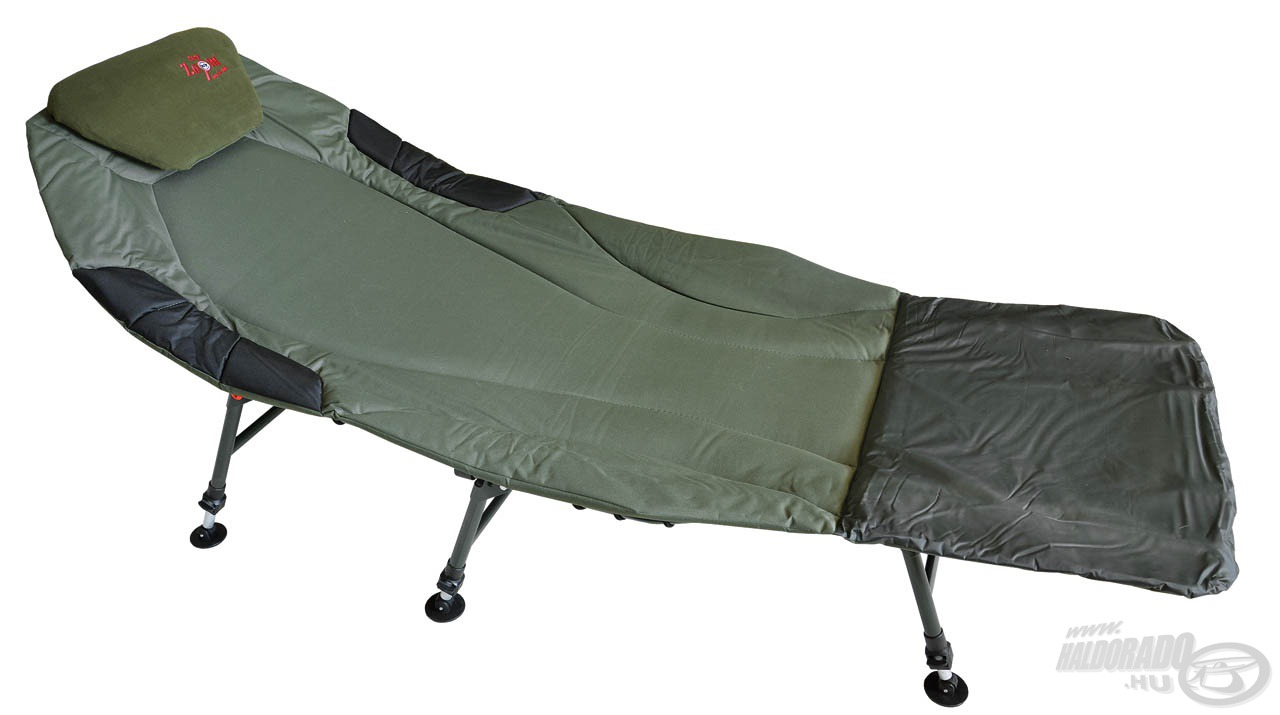 Azoknak ajánljuk ezt az ágyat, akik hosszú távú vízparti tartózkodásra készülnek