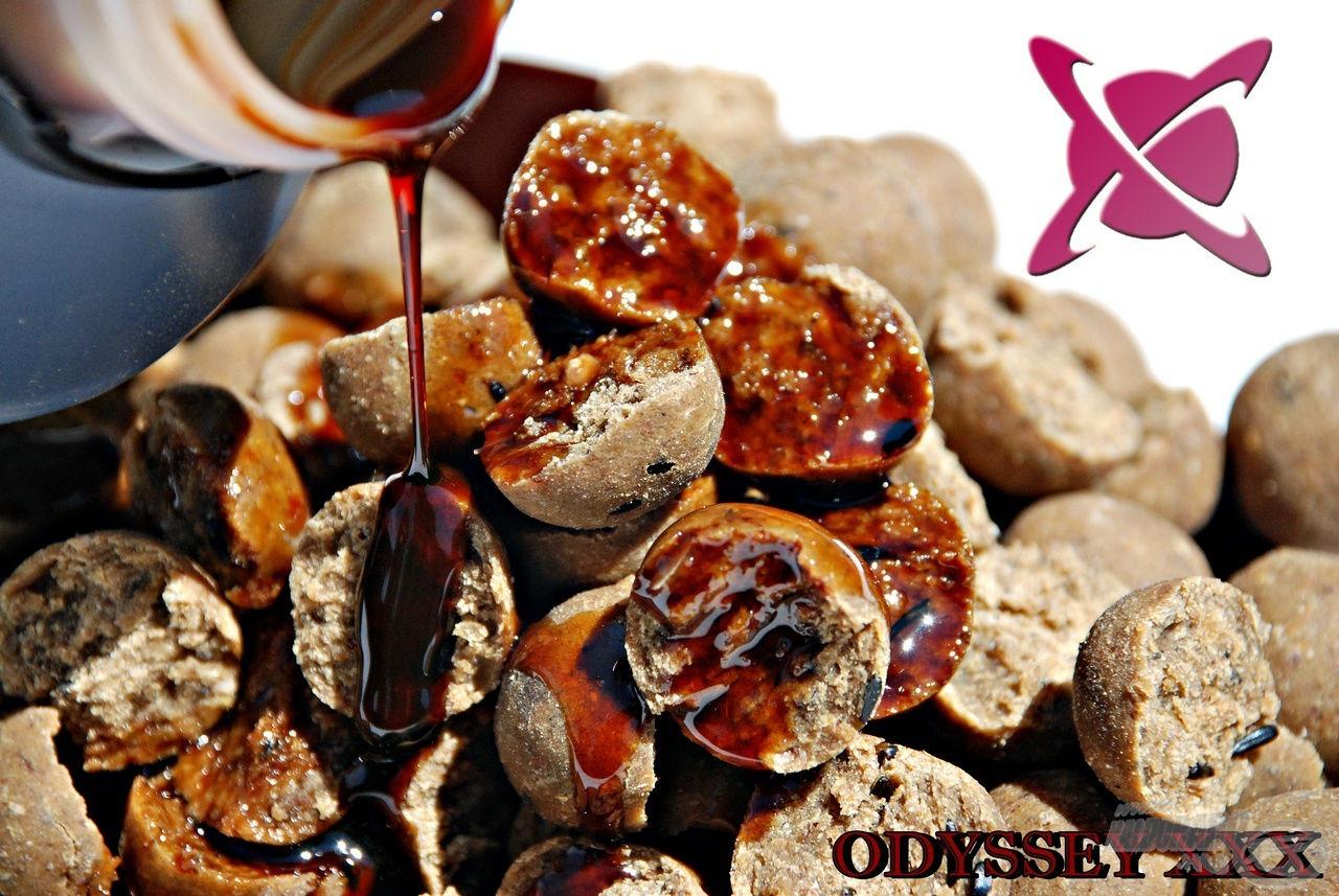A mára már legendás Odyssey XXX intenzív kagylós-élesztős illatával hívja fel magára a halak figyelmét