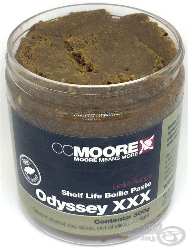 Az Odyssey XXX kiemelkedő csalogatóhatása immár bojli paszta formájában is elérhető!