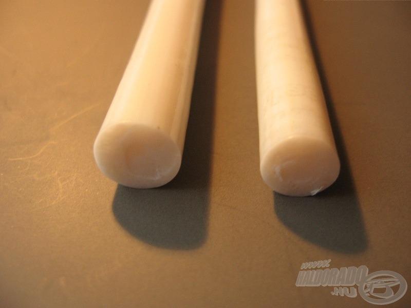Csőhajlító betétek lágy PVC-ből