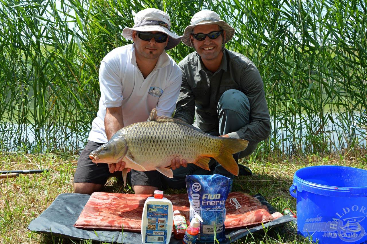 A legnagyobb öröm számunkra az, ha horgásztársaink is megelégedéssel használják termékeinket!