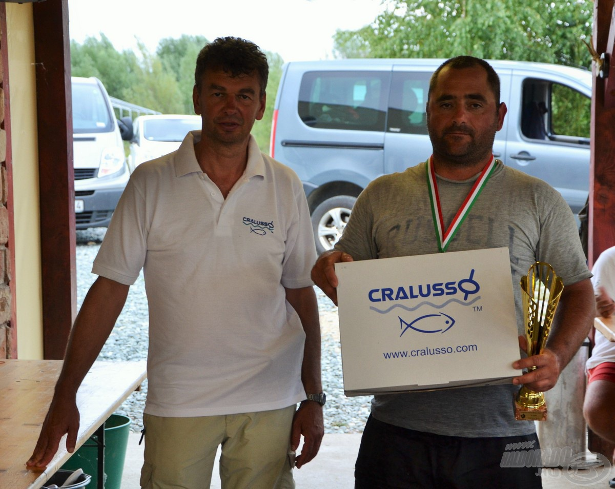 Matchbotos forduló második hely: Jakab Gábor