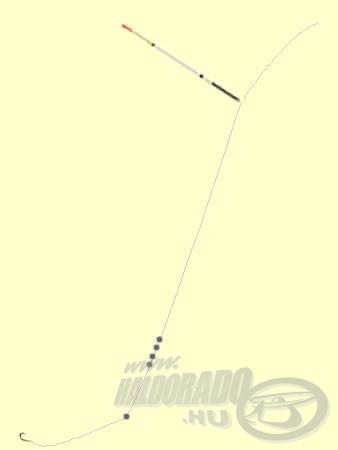 A Rocket Light úszóval roppant érzékeny szerelék készíthető