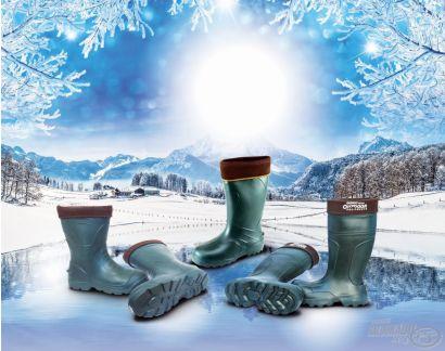 Csizmában, a legnagyobb hidegben is!