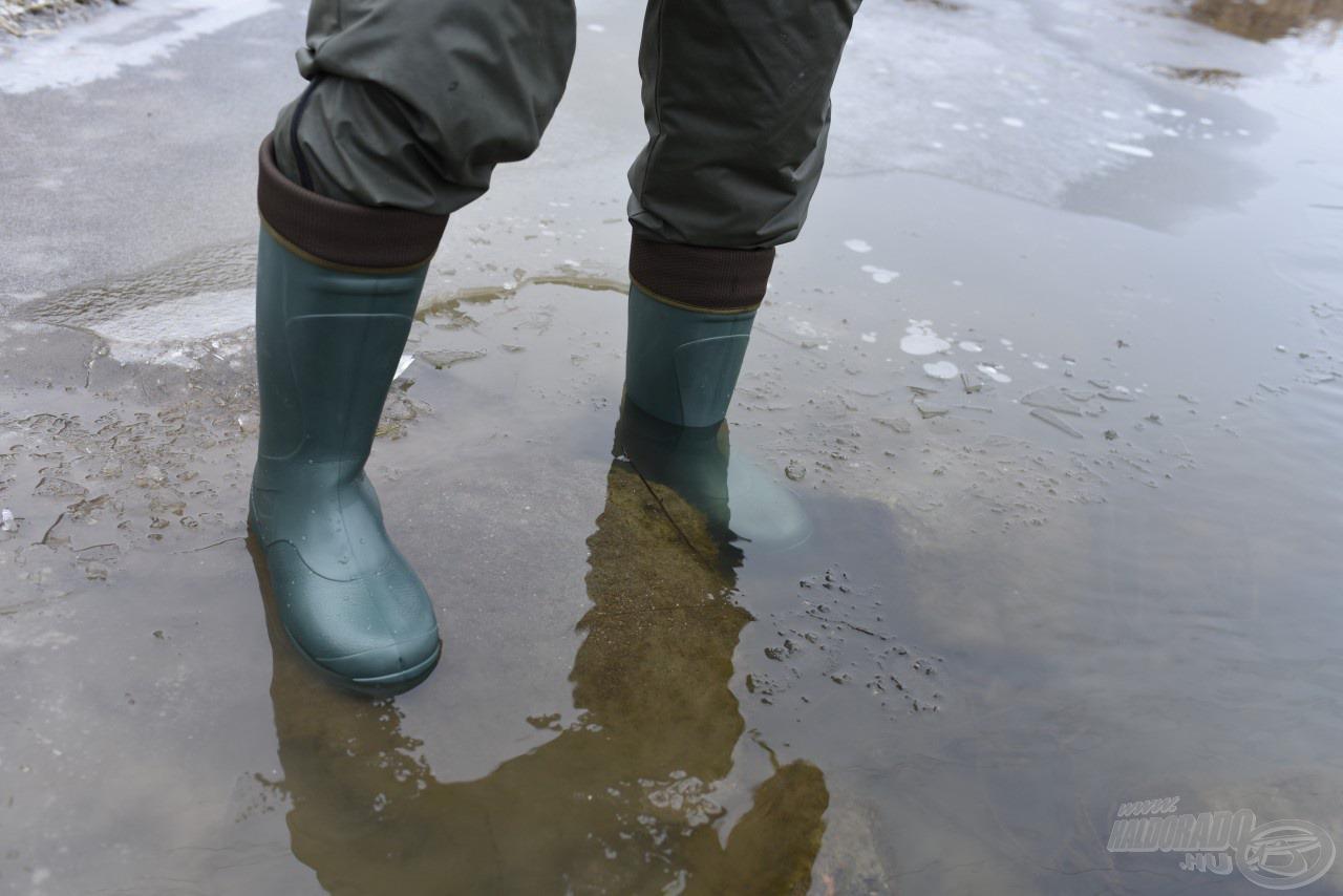Akár a jeges vízben is állhatunk benne