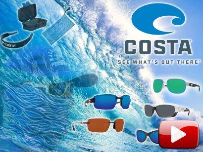 Csúcsminőségű COSTA napszemüvegek a Haldorádó kínálatában
