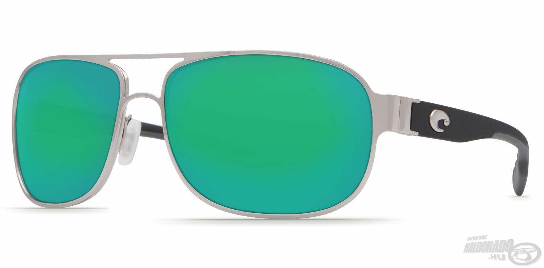 A Conch Green Mirror tökéletes példája annak, hogy igenis lehet egy napszemüveg egyszerre sportos és elegáns
