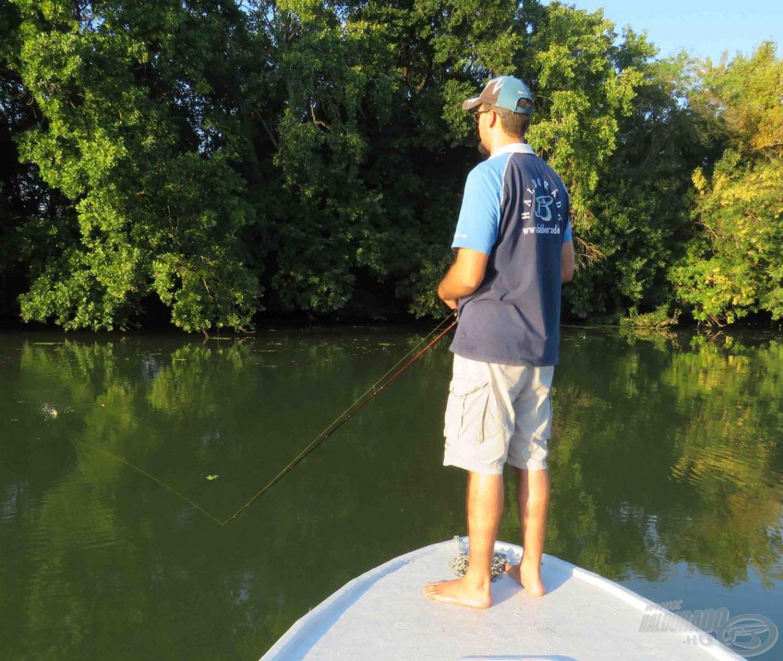Szeptemberben nappal még szinte nyári melegben horgászhatunk