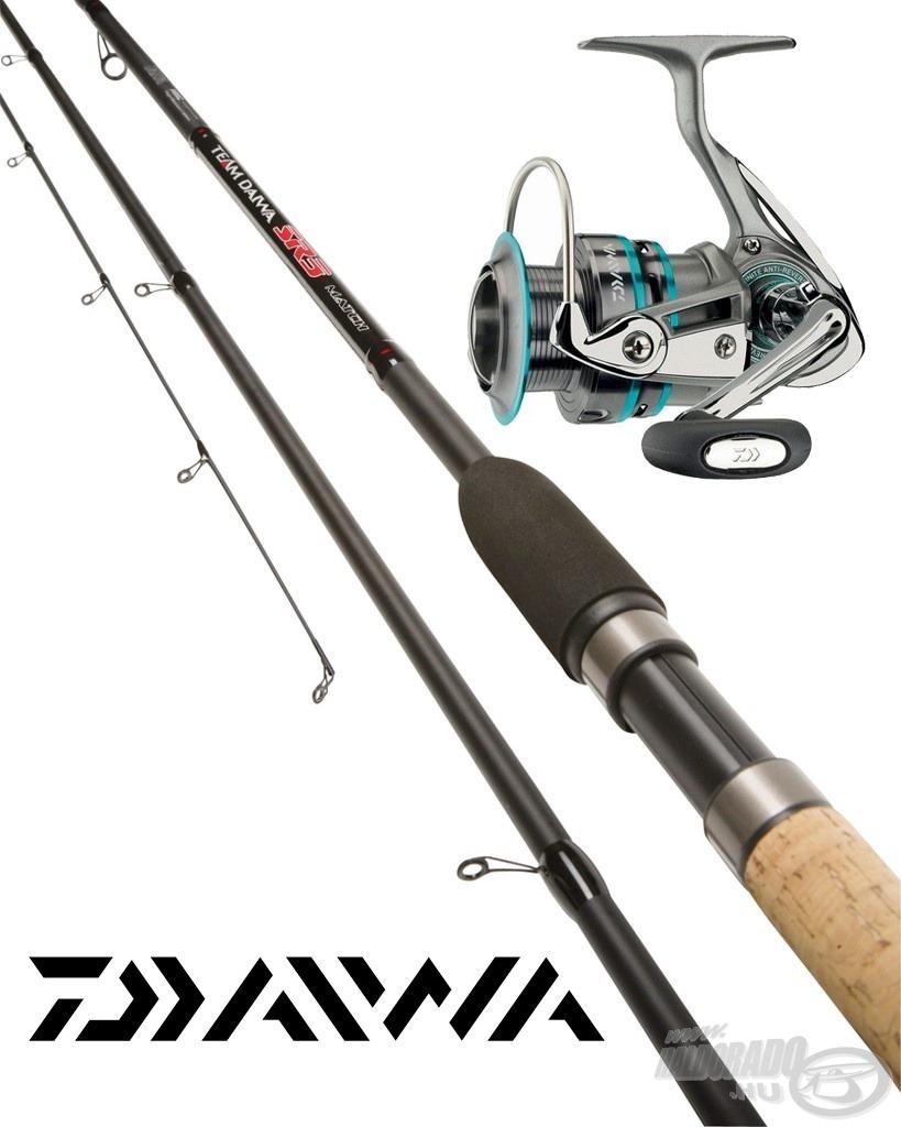 Kimagasló értéket képvisel a Daiwa Match szett, az úszós horgászat szerelmesei mindeneképp vegyék szemügyre!