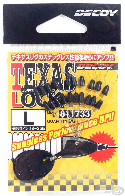 Ez a gumiütköző a Texas rig készítéséhez való