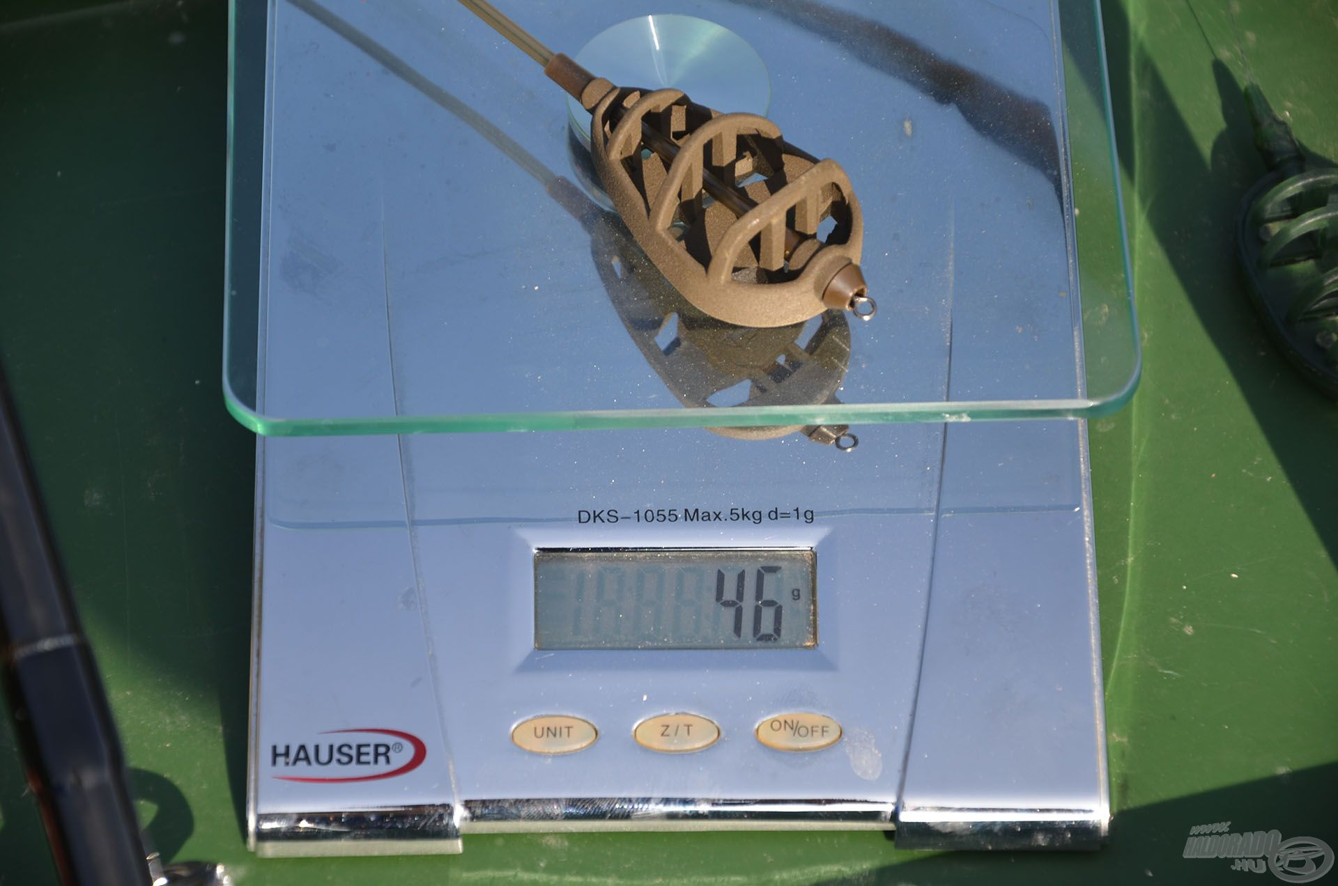 Üresen 46 g a Long Cast kosár