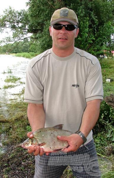 A verseny legnagyobb hala Egil horgához fűződik