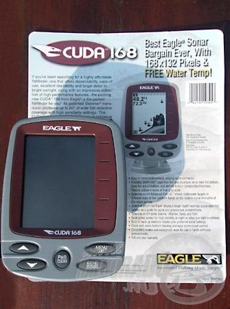 Az Eagle Cuda 168 tetszetős külsejű és kellemesen kis helyigényű készülék