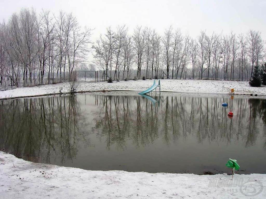 Szép, havas a táj, de az idő zord, -10 Celsius-fok