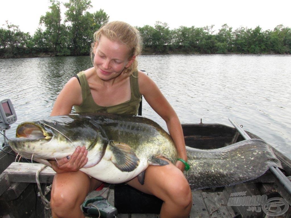 Hatalmas öröm egy ekkora halat az ölemben tartani