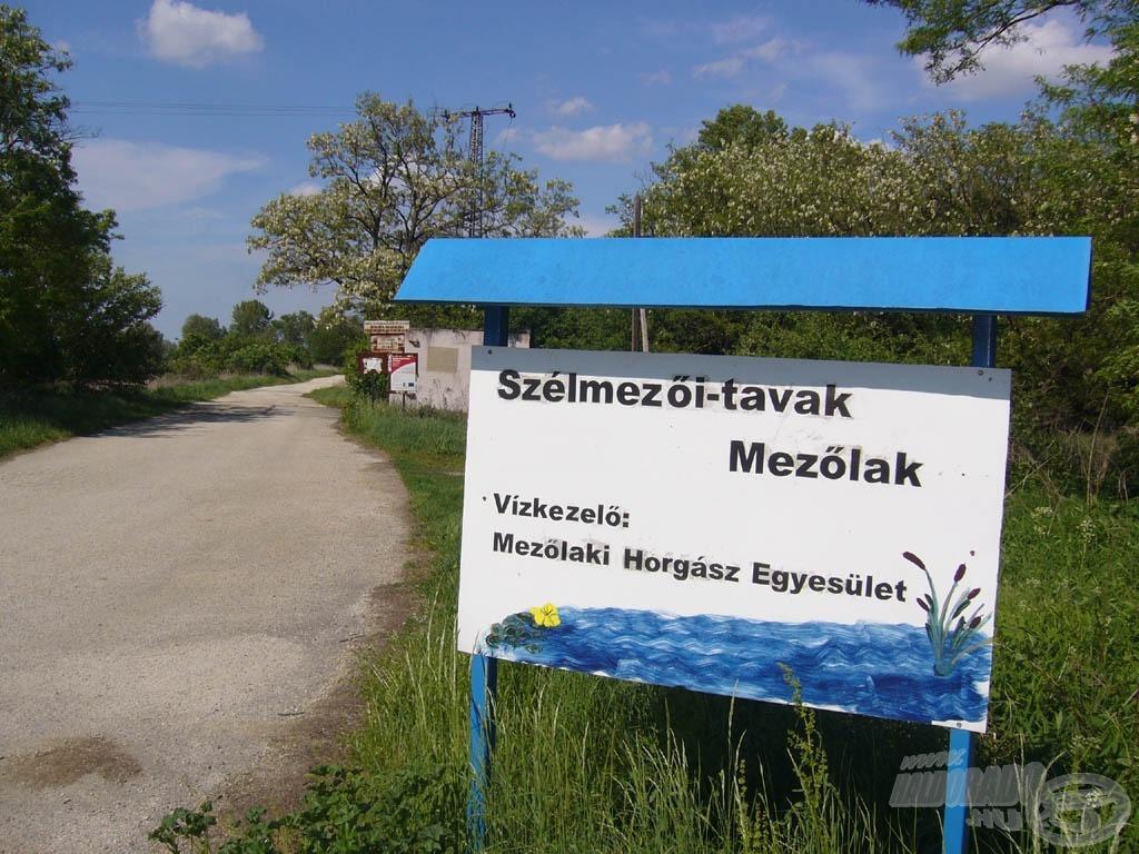 A tó bejárata