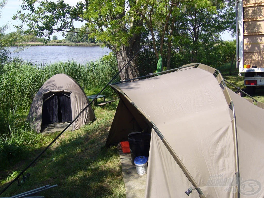 Táborunk…