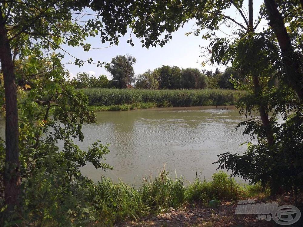 Horgászhelyem, a Kis-Duna