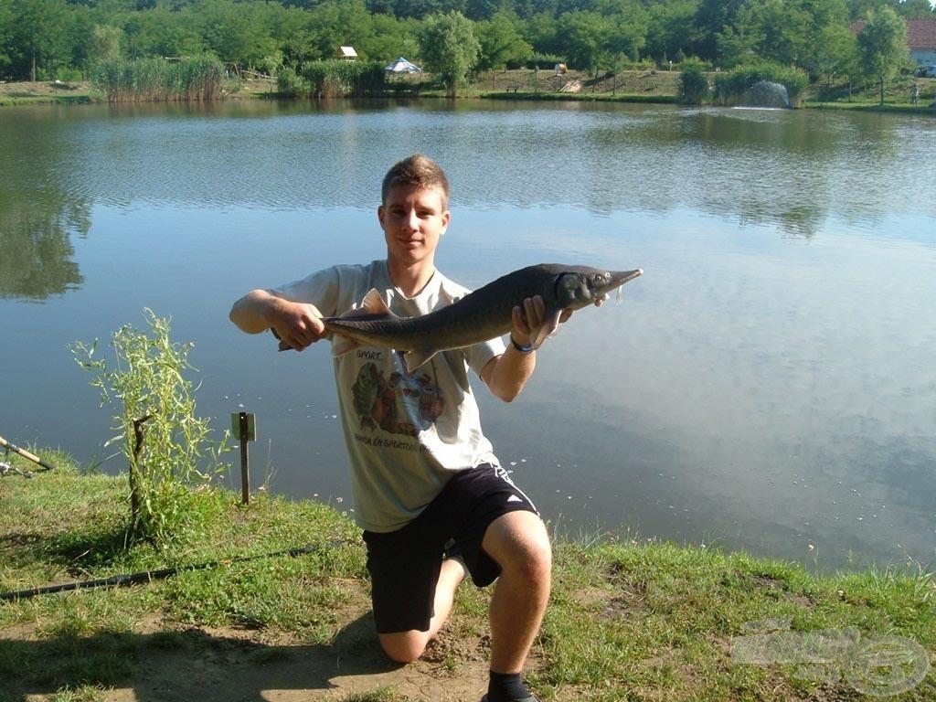 A horgászat egyik örömforrása