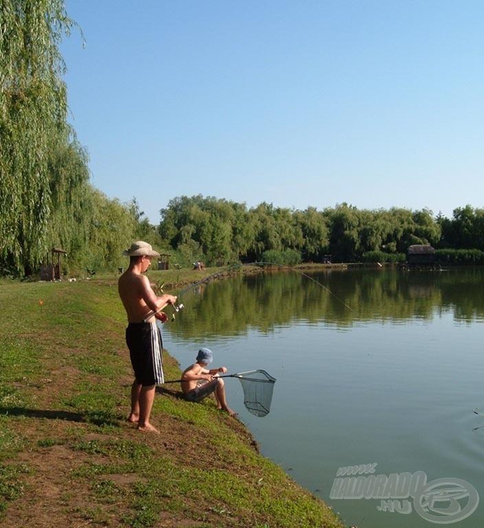 Horgásztunk rájuk…