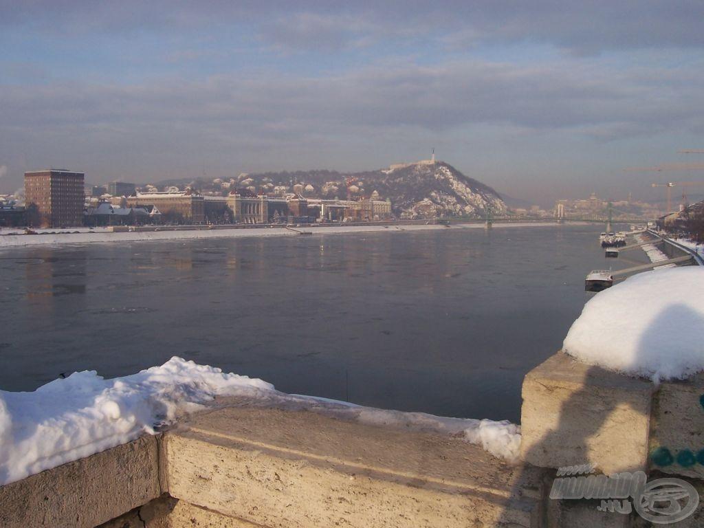Február elején az igen hideg időjárásnak köszönhetően…