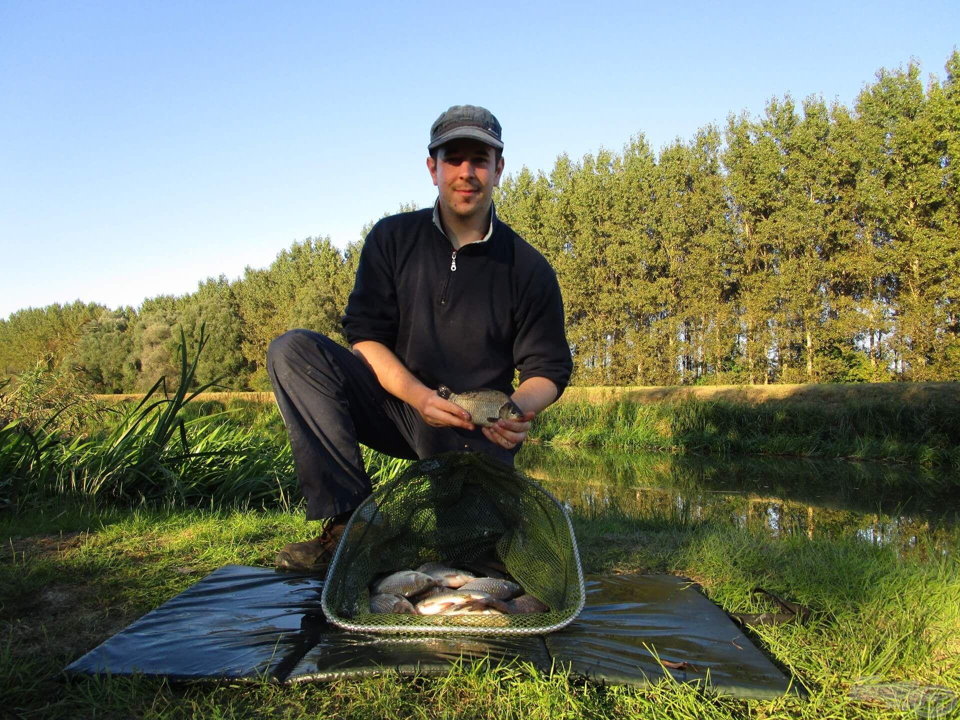 Egy őszi nap a Zala folyón