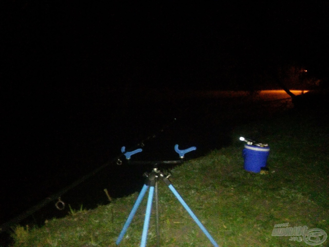 Kezdődhetett az éjszakai horgászat, mely nem volt betervezve