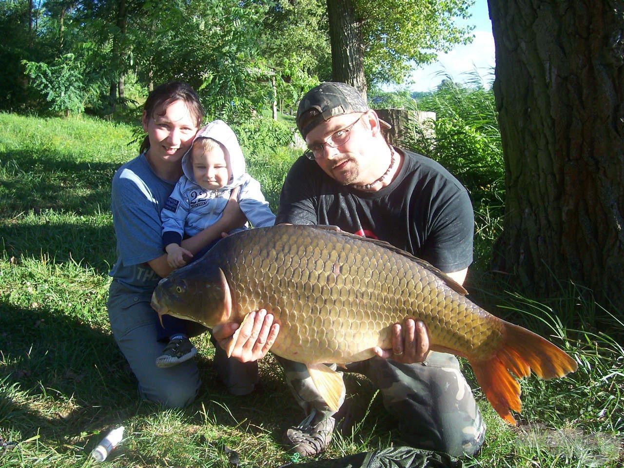 Egy korábbi horgászaton sikerült megfogni