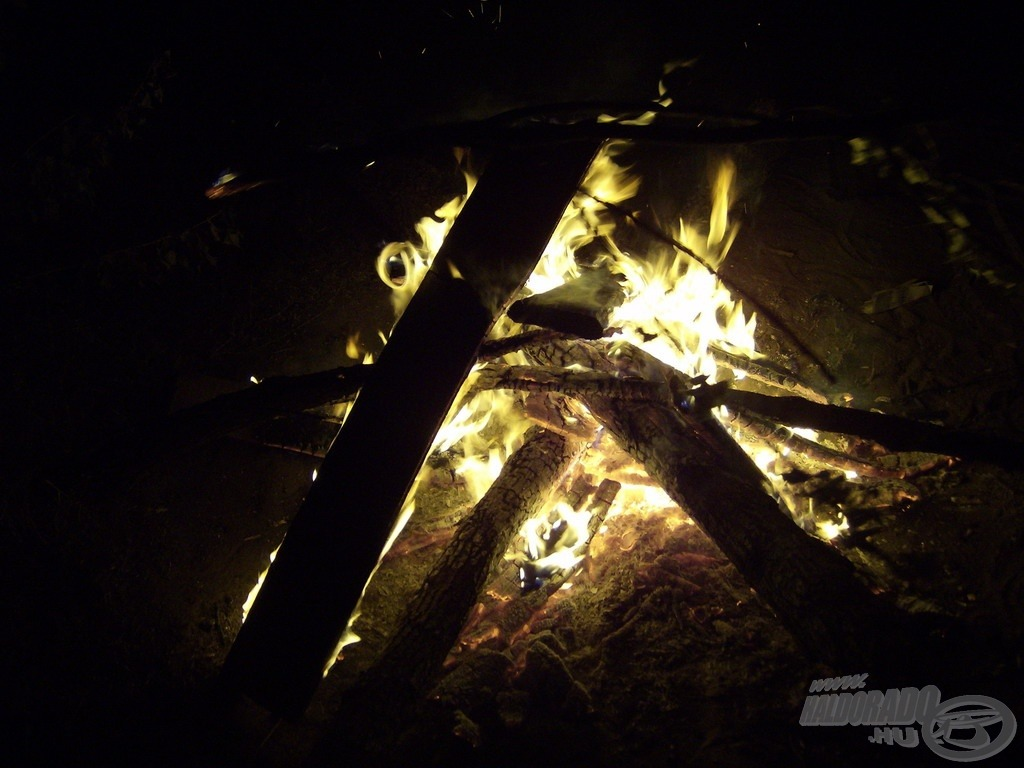 … de a tűz melege sosem jön rosszul!