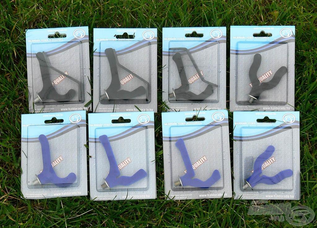 Az új Haldorádó bottartó fejek 8 különböző változatban kerülnek forgalomba