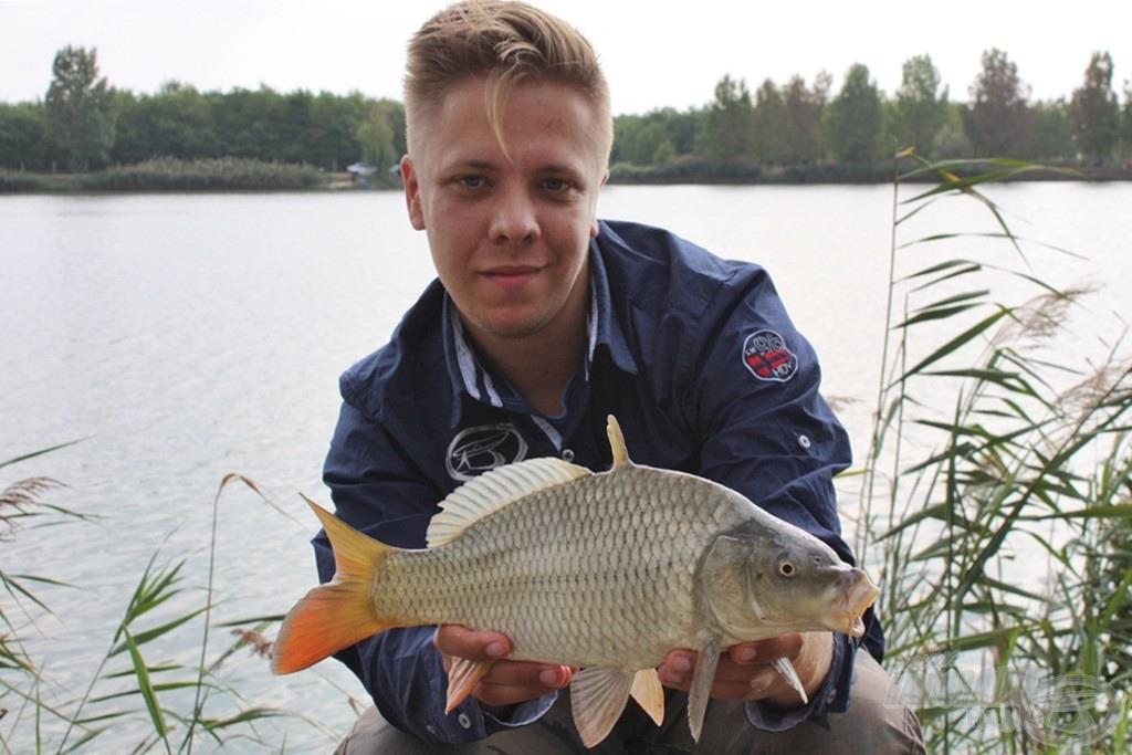 A halak mérete nem akart nőni, de ezúttal nem is ez volt az elsődleges cél